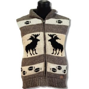 Adult, Youth and Kids Woolen Vest