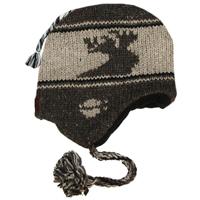 Adult Wollen Earflap Hat