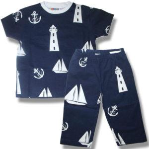 Kids Nautical on Navy