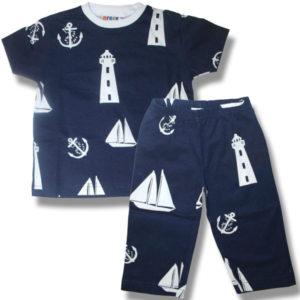 Kids Nautical on Navy