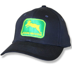 John Moose Navy Baseball Cap