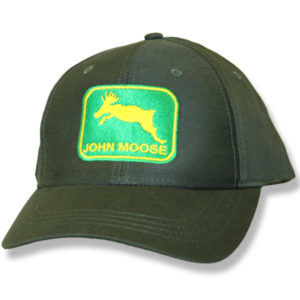 John Moose Hunter Green Baseball Cap