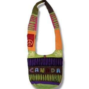 Shoulder bag 1 side print Candi Canada Cutout
