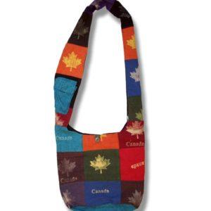 Shoulder bag 1 side print Dist.ML w/Canada
