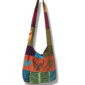 Shoulder bag 1 side print moose head