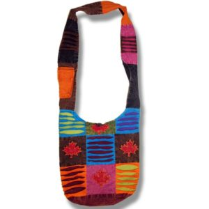 Shoulder bag 1 side print with ML cutout