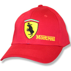 Mooserrari Montreal Red Twill Baseball Cap