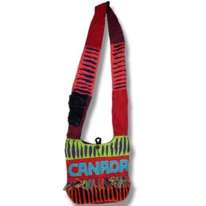 Passport bag with Canada Fringes