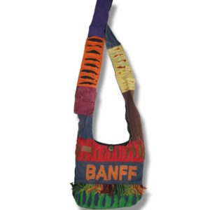 Passport Bag Banff with fringes