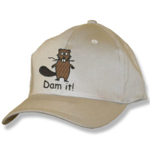Dam It Beaver Stone Baseball Cap