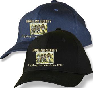 Home Land Security Black Baseball Cap