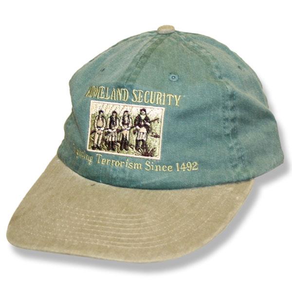 Home Land Security Hunter Green/Khaki Baseball Cap