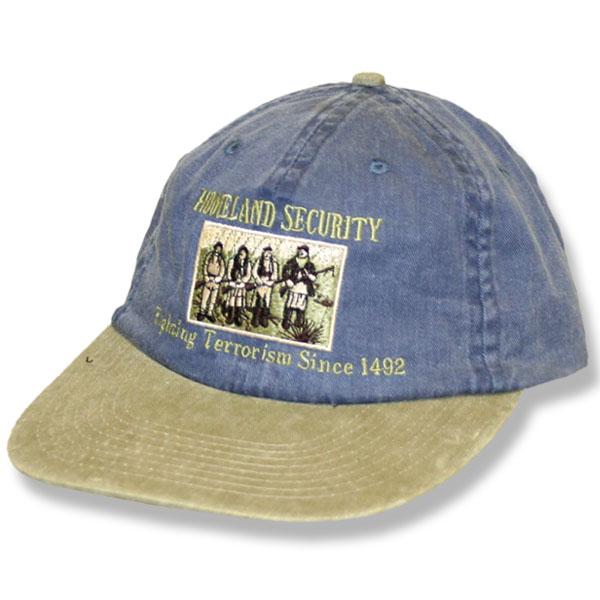 Home Land Security  Navy/Khaki Baseball Cap