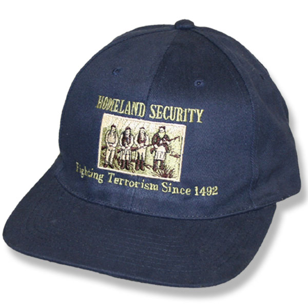 Home Land Security Navy Twill Baseball Cap