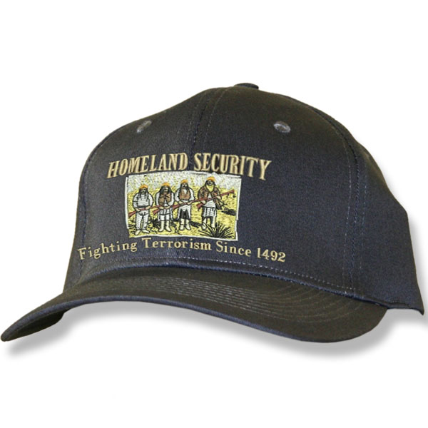 Home Land Security Charcoal Baseball Cap