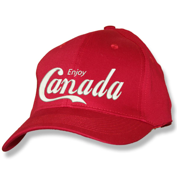 Enjoy Canada Red Baseball Cap