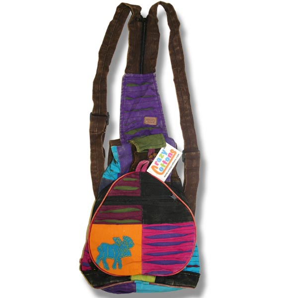 Backpack with Moose Applique