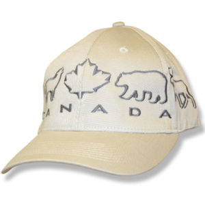 Animals Maple Leaf Stone Baseball Cap
