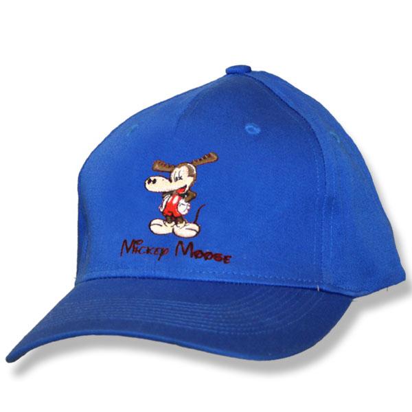 Mickey Moose Royal Fitted Baseball Cap