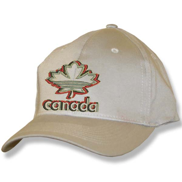 Maple Leaf 3D Stone Baseball Cap