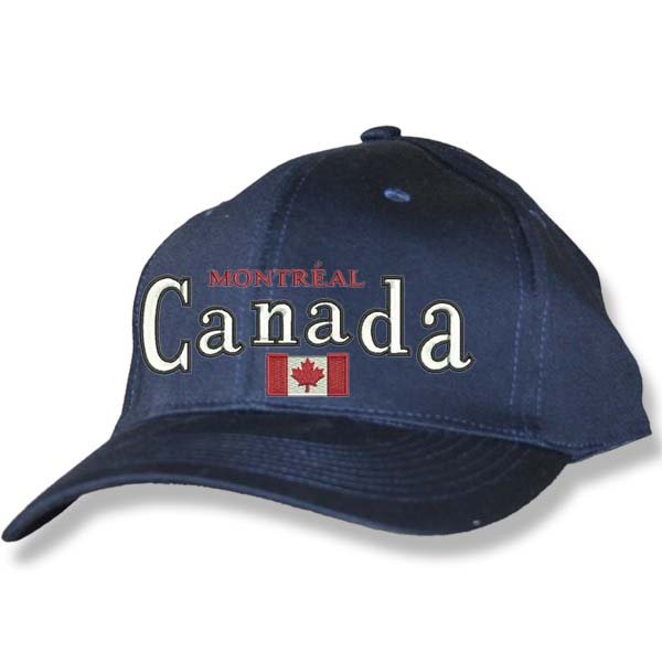 Canada Flag Navy Baseball Cap