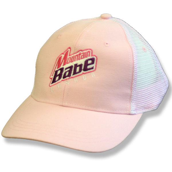 Mountain Babe Canada Pink Baseball Cap