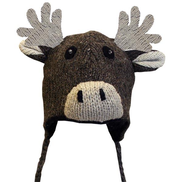 Moose Brown Tuque