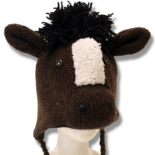 Horse Head Tuque