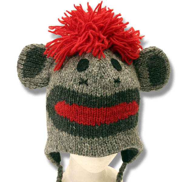 Monkey Grey Tuque