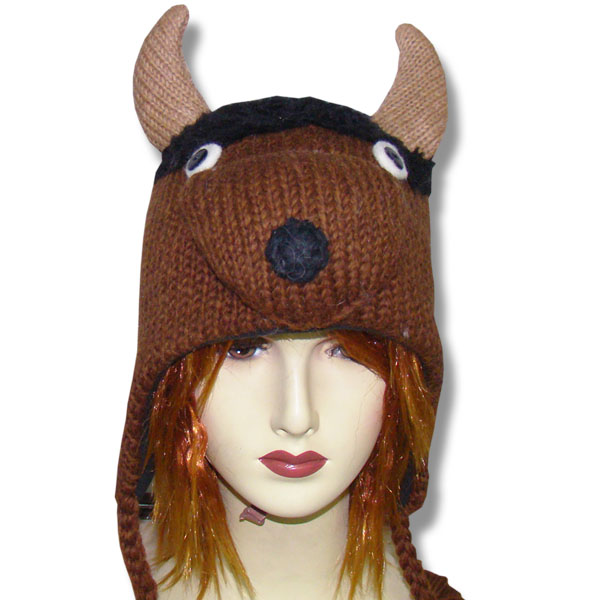 Buffalo Head Tuque