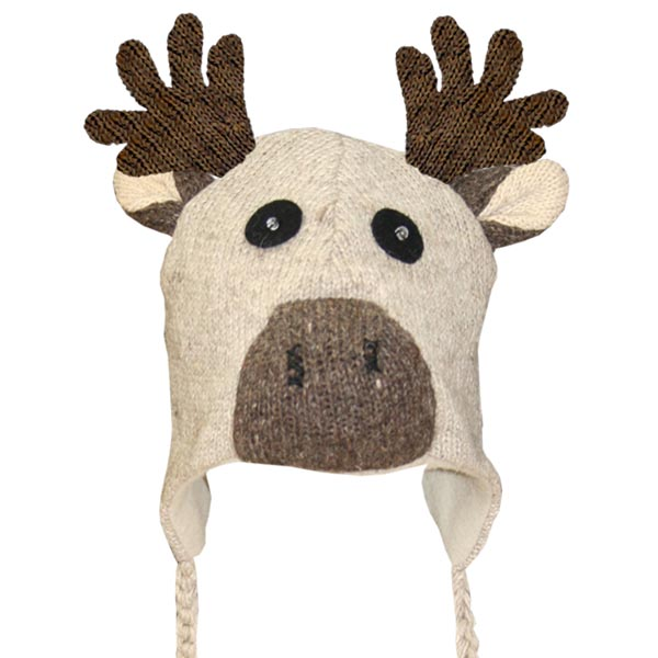 Moose Beige Tuque
