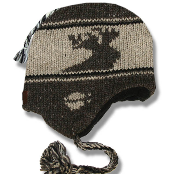 Moose Brown Toque