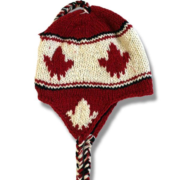 Maple Leaf Red Toque