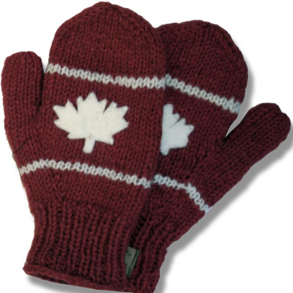 Adult Woolen mittens ML app. 100% wool