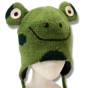 Frog Head Kids Tuque