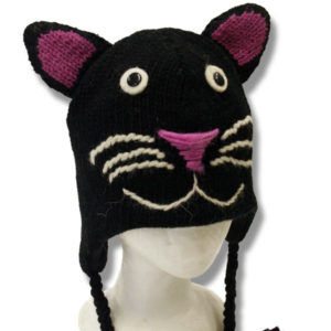 Kids Kitty Cat Head Tuque