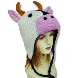 Cow Head Kids Tuque