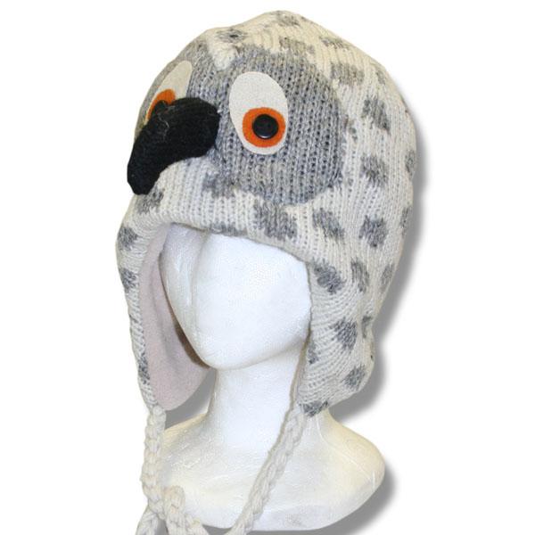Snowy Owl Kids Tuque