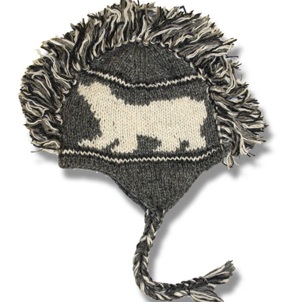 Polar Bear Adult Mohawk Tuque