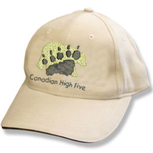 Canada High Five Stone/Black Baseball Cap