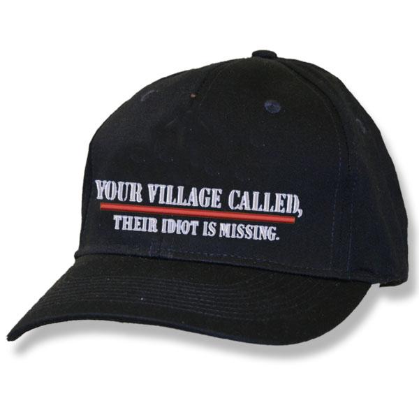 Your Village Called Black Baseball Cap