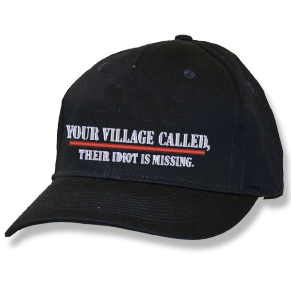 Your Village Called Black Baseball Cap