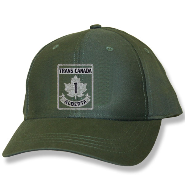 Trans Canada Hunter Green Baseball Cap