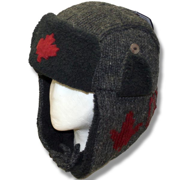 Adult Pilot Hats w/fur trim ML applique