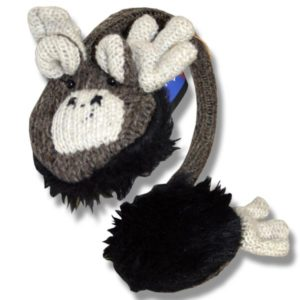Ear muffs brown moose