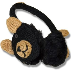 Ear muffs black bear