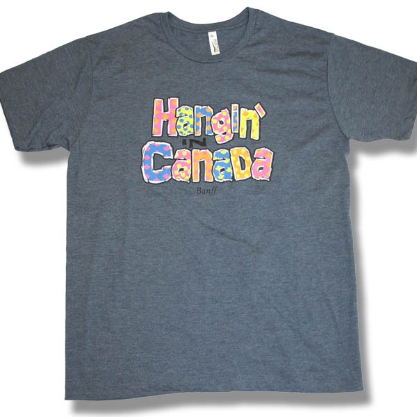 Hanging in Canada                           Adult Jersey T-shirt