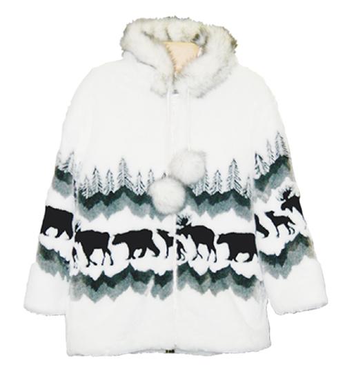 Adult Jasper Funfur Hooded Jacket