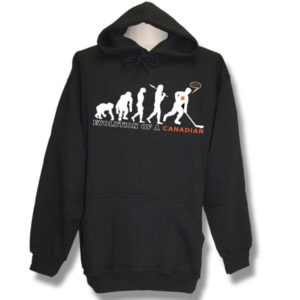 Evolution of a Canadian Pull-over Hoodie