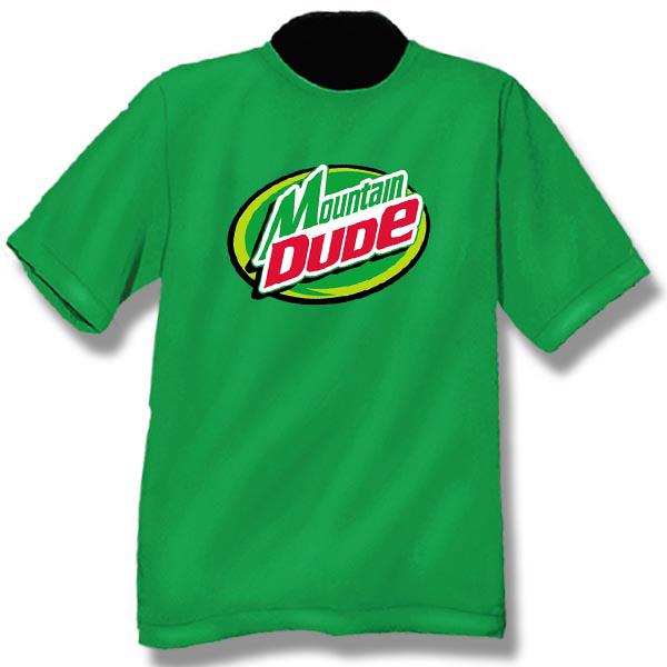 Mountain DudeScreen Print Youth T-Shirt